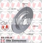 Zadní brzdový kotouč (288mm) P2 S60/S80/V70 II/XC70 II
