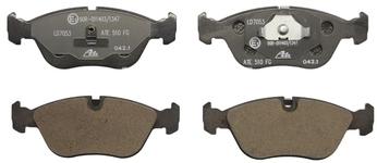 Přední brzdové destičky (280mm kotouč) P80 C70/S70/V70(XC)