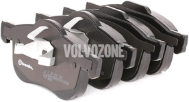 Přední brzdové destičky (285,5/305mm kotouč) P2 S60/S80/V70 II/XC70 II