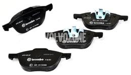 Přední brzdové destičky (278/300mm kotouč) P1 C30/C70 II/S40 II/V50
