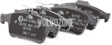 Zadní brzdové destičky (280mm kotouč) P1 C30/C70 II/S40 II/V50