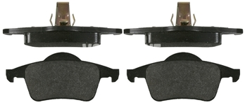 Zadní brzdové destičky (288mm kotouč) P80 S70/V70(XC) s AWD (nový typ), P2 S60/S80/V70 II/XC70 II