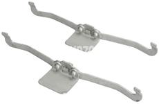 Příslušenství předních brzdových destiček (320mm kotouč) P1 C30/C70 II/S40 II/V40 II(XC)/V50