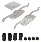 Příslušenství předních brzdových destiček (316/336mm kotouč) P3 S60 II(XC)/V60(XC) S80 II/V70 III/XC70 III