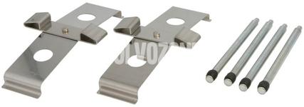 Příslušenství předních brzdových destiček P2 S60R/V70R II (systém Brembo)