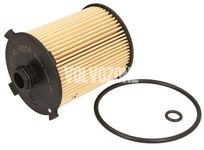 Olejový filtr 1.5 T2/T3, 2.0 T3/T4/T5/T6/T8, 2.0 D2/D3/D4/D5, Mild Hybrid B3/B4/B5/B6 P1 P3 SPA/CMA (2014-) 4 válec