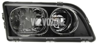 Světlomet pravý duální S40/V40 (2003-) černý