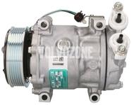 Kompresor klimatizace P1 1.6D2 C30/S40 II/V50 (nový typ), P3 1.6D2 S60 II/V60 S80 II/V70 III (střední typ)