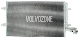 Kondenzátor klimatizace 4 válce P1 C30/C70 II/S40 II/V50 (nový typ)