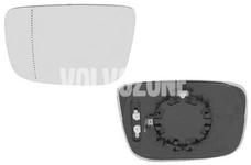 Sklo levého zpětného zrcátka P3 XC60 strana řidiče (bez automatického stmívání)
