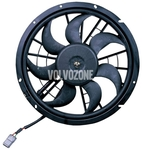 Ventilátor chladiče motoru benzín bez turba a klimatizace P80 C70/S70/V70