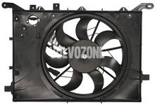 Ventilátor chladiče motoru P2 (-2003) S60/S80/V70 II/XC70 II