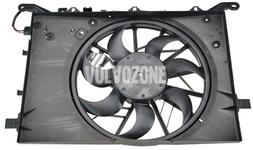 Ventilátor chladiče motoru 2.4D/D5 bez DPF, 5 válec benzín P2 (2004-) S60/S80/V70 II/XC70 II