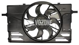 Ventilátor chladiče motoru 2.4/T5 P1 C30/C70 II/S40 II/V50