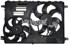 Ventilátor chladiče motoru P3 s 2 vrtulemi (DR01) nový typ