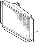 Chladič plnicího vzduchu benzín/diesel P80 C70/S70/V70(XC)