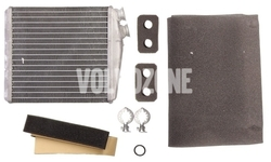 Výměník tepla vnitřního (radiátor) topení P3 S60 II(XC)/V60(XC)/XC60 S80 II/V70 III/XC70 III