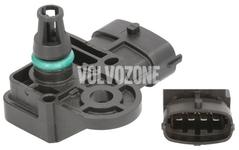 Snímač plnicího tlaku P1 P3 SPA (2014-) 2.0 D2/D3/D4/D5, P3 2.0 T Polestar/T5 V60 XC bez AWD