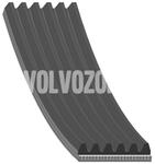 Drážkový řemen 1.9TD/DI (-2000) S40/V40 1640mm pro vozidla s klimatizací
