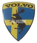 Živicová nálepka Los Volvo - Švédská vlajka