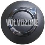 Středová krytka kola (64mm) grafitová, chrom