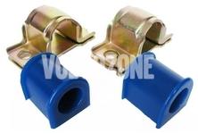 Silentbloky předního stabilizátoru 21-23mm P2 S60/S80/V70 II/XC70 II polyuretan