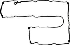Těsnění víka ventilů 1.6 T2/T3/T4 P1 P3