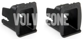 Plastové krytky na Isofix pro snadnější montáž