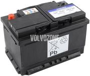 Baterie 590A 60Ah 278x175x175 mm