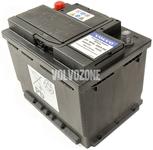 Baterie 520A 60Ah 242x175x190 mm