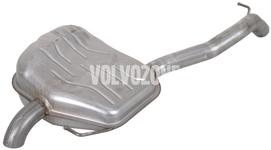 Koncový tlumič výfuku 5 válec 2.0 D3/D4 P1 (2012-) S80 II/V70 III/XC70 III, 2.4D/D5 (-2011 s AWD) V70 III/XC70 III