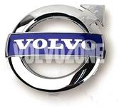 Chromový emblém Volvo mřížky chladiče 125 mm (2010-) P1 P2, P3 (2010-) S80 II/V70 III/XC70 III, (2010-2013) S60 II/V60