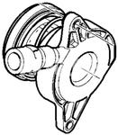 Vypínací ložisko spojky M76 3-4 válec P1/SPA/CMA