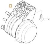 Palivový filtr 4 válec diesel SPA XC40