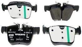 Zadní brzdové destičky (320/340mm) SPA S60 III/V60 II(XC) S90 II/V90 II(XC) XC60 II/XC90 II Variant code RC02