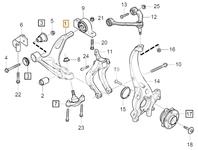 Rameno zavěšení kol pravé SPA S60 III/V60 II