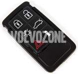 Náhradní tlačítka pouzdra dálkového ovládání P3 S60 II(XC)/V60(XC)/XC60 S80 II/V70 III/XC70 III - 6 tlačítkové