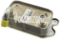 Chladič motorového oleje benzín P80 (1999-), 5 válec benzín P2, P2 S80 2.9/3.0/T6 (-2002)