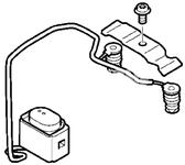 Snímač teploty palivového nezávislého topení S60 II(XC)/V60(XC)/XC60 S80 II/V70 III/XC70 III