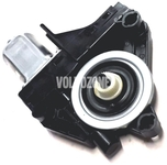 Motorek stahování zadního levého okna (nový typ) P3 S80 II/V70 III/XC70 III, S60 II(XC)/V60(XC)/XC60 strana za řidičem