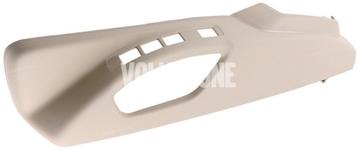 Boční kryt sedadla řidiče P3 S60 II(XC)/V60(XC), XC60 (2011-), (2015-) S80 II/V70 III/XC70 III el. ovládání, man. nastavení podpory beder, barva béžová