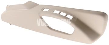 Boční kryt sedadla spolujezdce P3 S60 II(XC)/V60(XC), XC60 (2011-), (2015-) S80 II/V70 III/XC70 III el. ovládání, man. nastavení podpory beder, barva béžová