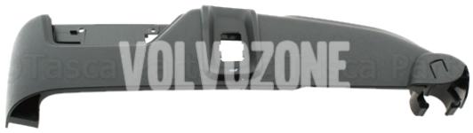 Boční kryt sedadla řidiče P2 (2007-) XC90 el. ovládání, masáž, odvětrávání, barva černo-šedá