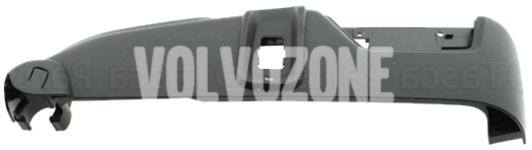 Boční kryt sedadla spolujezdce P2 (2007-) XC90 el. ovládání, masáž, odvětrávání, barva černo-šedá