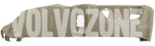 Boční kryt sedadla spolujezdce P2 (2007-) XC90 el. ovládání, masáž, odvětrávání, barva mocca-hnědá