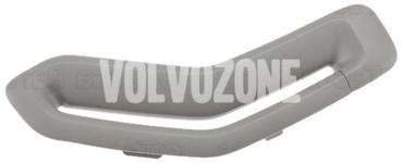 Krytka vodítka bezpečnostního pásu P2 (2006-) S60/V70 II/XC70 II strana spolujezdce, barva šedá