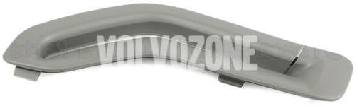 Krytka vodítka bezpečnostního pásu P2 (-2005) S60/S80/V70 II/XC70 II/XC90 strana řidiče, barva šedá