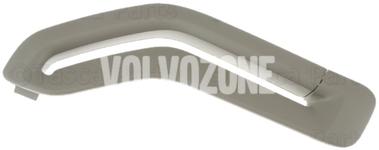 Krytka vodítka bezpečnostního pásu P2 (-2005) S60/S80/V70 II/XC70 II/XC90 strana řidiče, barva dub
