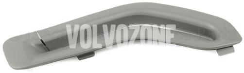 Krytka vodítka bezpečnostního pásu P2 (-2005) S60/S80/V70 II/XC70 II/XC90 strana spolujezdce, barva šedá
