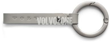 Klíčenka Volvo, 9cm bledá